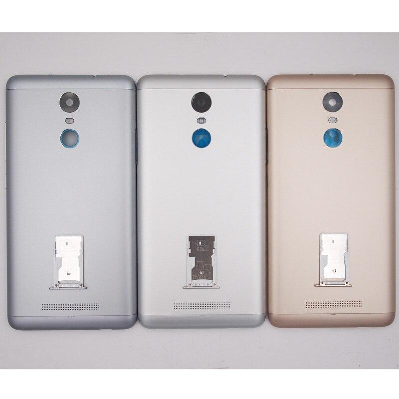 imágenes para 100% Nueva Red Completa de La Batería Back Door Cubierta de la Cubierta de la Bandeja de Tarjeta SIM caso Para Xiaomi Redmi Nota 3 Pro Con Botones Laterales (150mm)