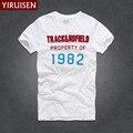 YIRUISEN Марка Нью-Йорк Стиль футболки для Мужчин С Коротким Рукавом Мода 2016 Лето Белая Футболка Футболка Homme Camisetas Masculinas