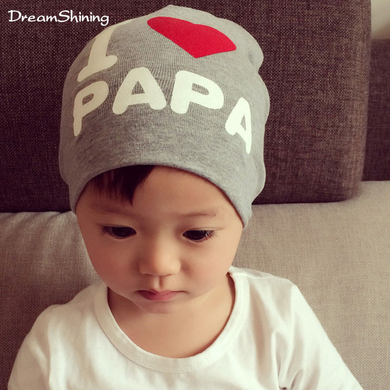 The Spring And Autumn Period And The Male And Female Baby Formula Is The Head Spring  Baby Hat I Iove Mother Children's Hat