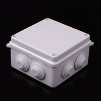 Waterproof Plastic Enclosure Case Power Junction Box IP65 100mm x 100mm x 70mm