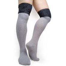 Warm over Knee High quality Socks Men Sexy Stocking Striped Formal Business Stage Socks Gay Male Collection Socks Cotton Hose men business long stocking sexy cotton striped thick warm socks for male high quality brand mens formal dress socks hose coffee