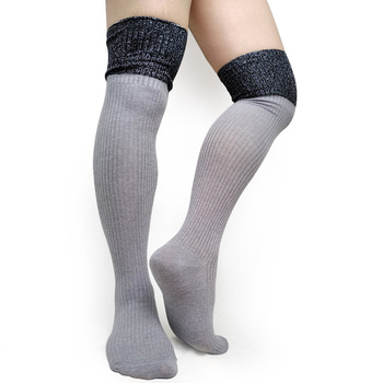 Warm over Knee High quality Socks Men Sexy Stocking Striped Formal Business Stage Socks Gay Male Collection Socks Cotton Hose men sexy faux leather stockings elastic high quality over knee gay stage performance socks male bodystockings