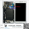 Para samsung note3 n9006 original garantia display lcd + touch screen painel de digitador com frame