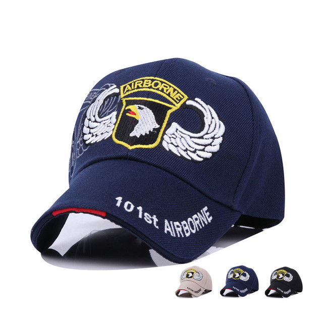 c2a1dbb679e64 Casual 101st Airborne Division Snapback Hat US Air Force Cap Army Fans Bone  Baseball Hats Caps