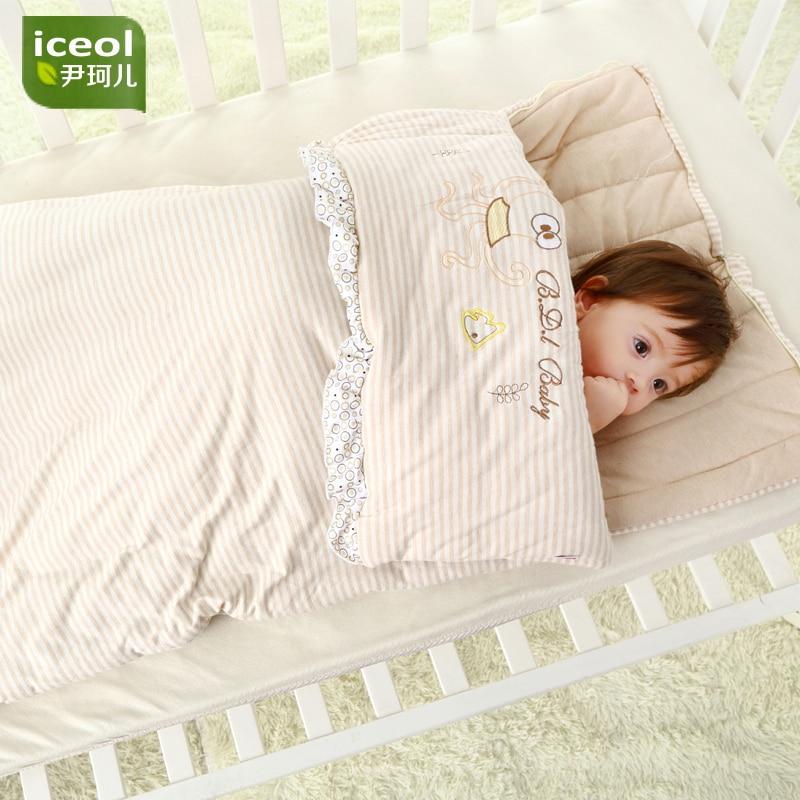 Wyjmowany koc bawełniany na podeszwy dziecięce Nowy, gruby śpiwór - Pościel - Zdjęcie 4