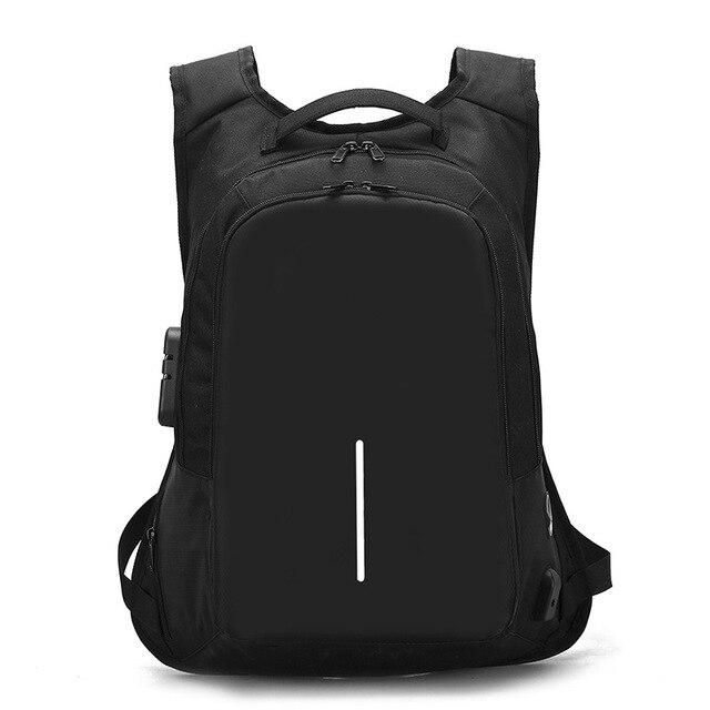 Crossten Anti-theft External USB Charge Laptop Bag Waterproof 16 5