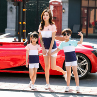 Summer Family Matching Pajamas For Kids Mother And Daughter Clothes Christmas Sweater Family Clothing Sets
