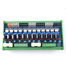 цена на 12-channel PLC AC amplifier board, output, board Original thyristor, optocoupler isolation board relay board