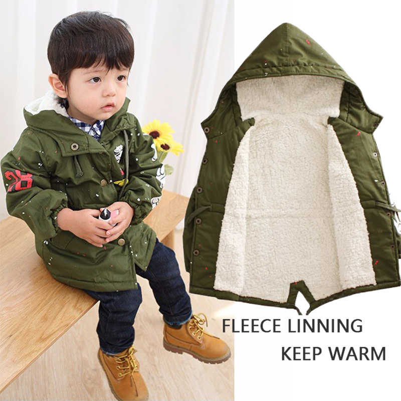 32012ce27 Detail Feedback Questions about Baby Boys Girls Hooded Jacket Coat ...