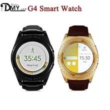 Hot sale NO 1 G4 Bluetooth 3 0 Health Monitor MTK 1 2 Inch Round IPS