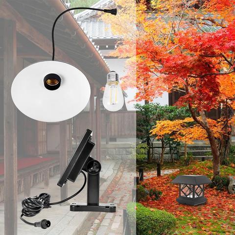 retro lustre luz pingente de led solar led lampada pendurada ao ar livre patio corredor