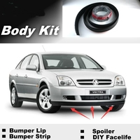 NOVOVISU Bumper Lip Lips For Holden Vectra B C 2000~2015 Shop Spoiler Deflector Car Tuning / Recommend Body Kit + Strip