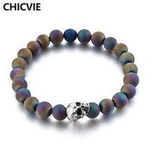 Chicvie дропшиппинг бриллианты и браслеты с черепами под заказ