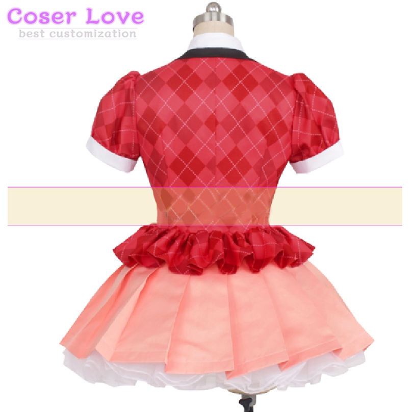 Zombie Land Saga Yugiri coat shirt skirt Cosplay Carnaval Costume New Years Christmas Costume
