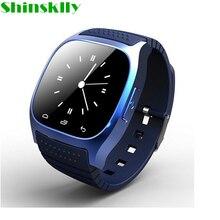 M26 спортивные bluetooth 4,0 смарт часы роскошные наручные часы с циферблатом SMS напоминают шагомер для samsung LG htc Android Phone Smartwatchs