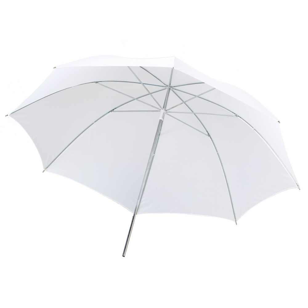 Легкий 33 дюйма по студии белый отражатель-зонт для фотосессии белый зонтик-рассеиватель диффузор для вспышки оптовая продажа