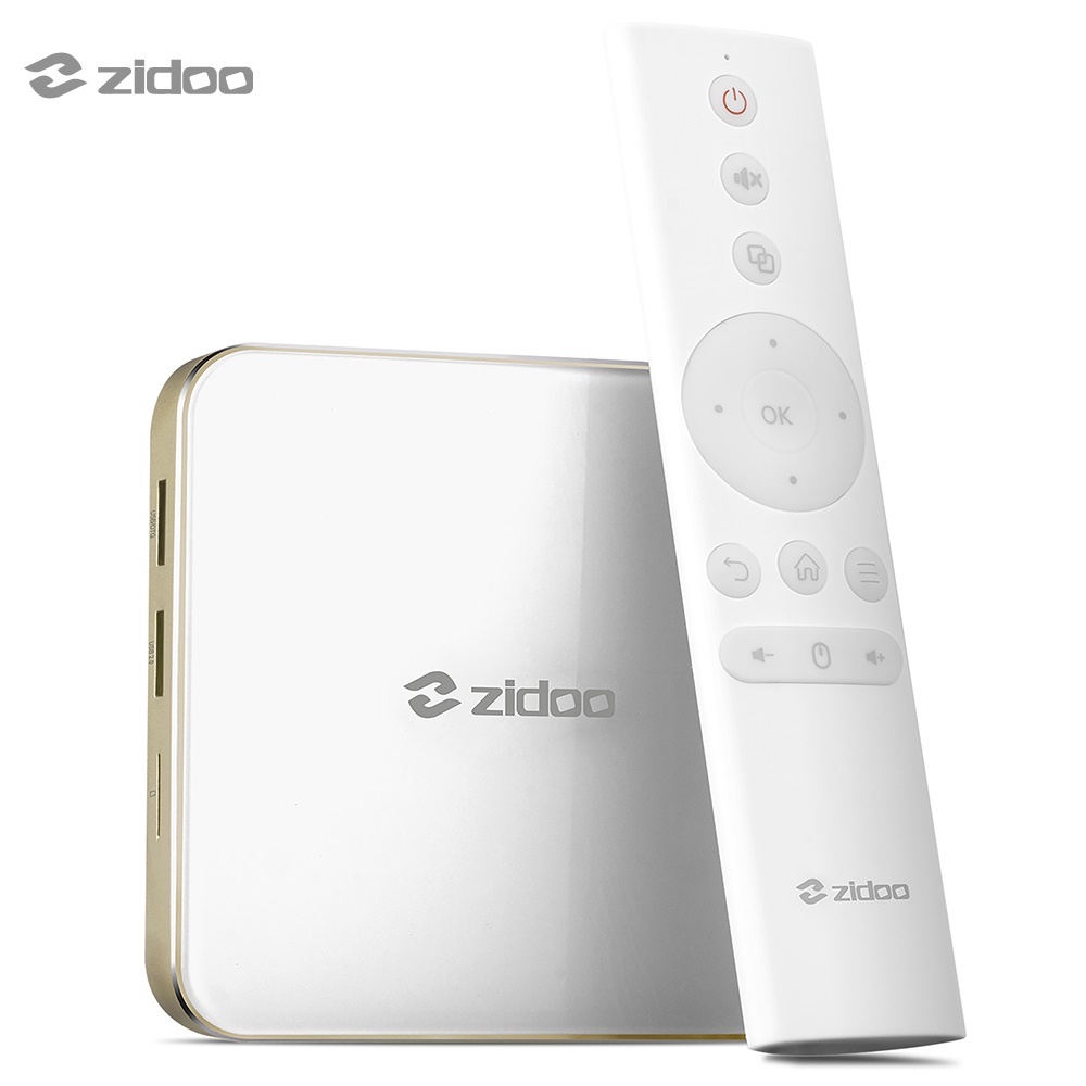 ZIDOO H6 PRO Android 7.0 TV Box 4K 10Bit HDR Allwinner H6 2GB 16GB WIFI 1000M LAN Dolby Digital DTS-HD BT4.1 Media Player zidoo x6 pro tv box 2g 16g android 5 1 rockchip r3368 wifi bluetooth4 0 1000m ethernet gigabit lan