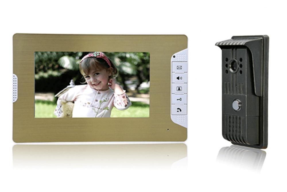 600TVL  IR  Night Vision  Intercom  Video Door Phone 600TVL  IR  Night Vision  Intercom  Video Door Phone