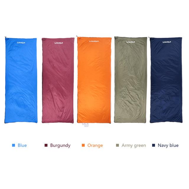 Outdoor Envelope Sleeping Bag Camping Travel Hiking Ultra-light