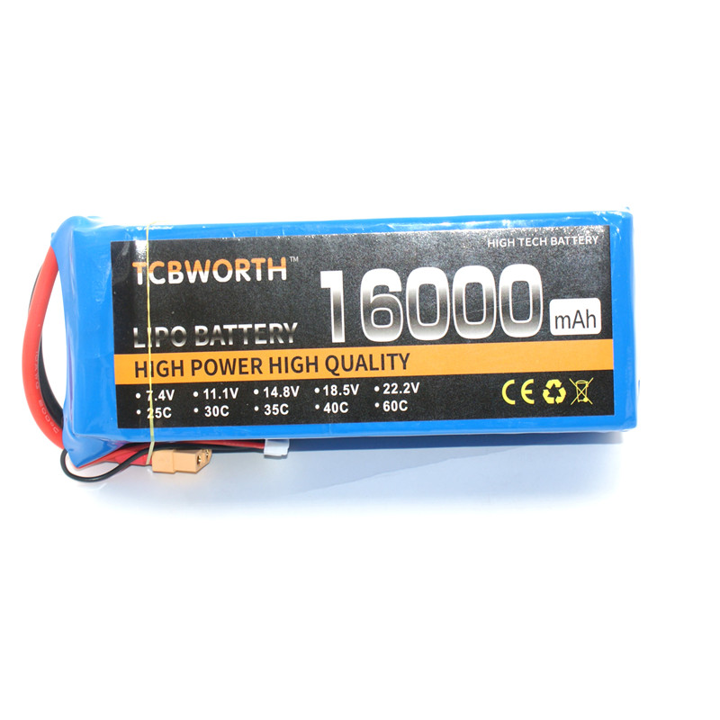 TCBWORTH RC LiPo Battery 3s 11.1v 16000mAh 25c for RC Airplane Drone Car Boat airplane Li-ion Batteria AKKU men wallets genuine leather top cowhide leather men s long wallet clutch wrist bag men card holder coin purse