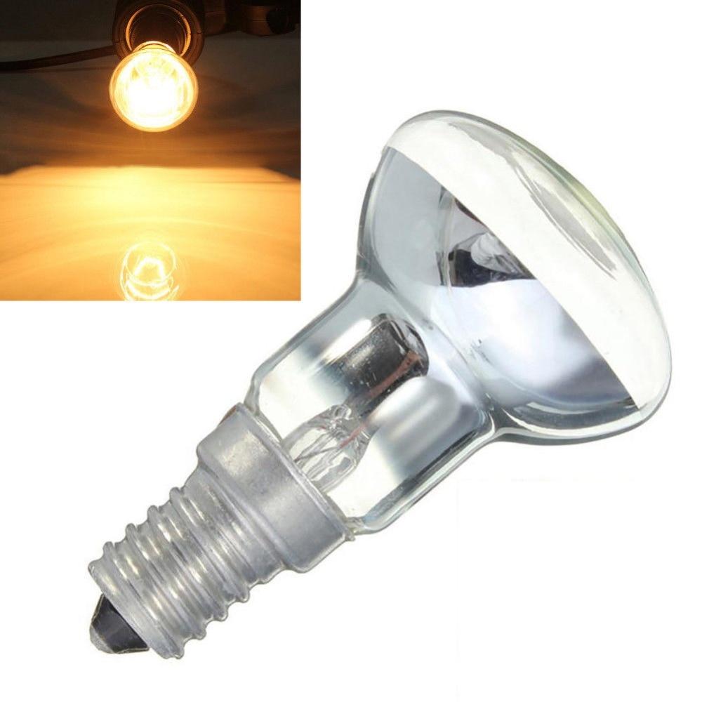 New 1PC Clear Reflector Luminaria Spot Light Filament 30W R39 Bulb Lava Lamp  E14 Screw SES Spotlight Screw In Light Bulb Bulb