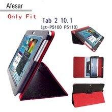 Tab 2 10.1 p5100 p5110 p5113 case soporte del tirón de la pu de cuero folio de la cubierta case para samsung galaxy tab 2 10.1 tablet gt-p5110 P5100