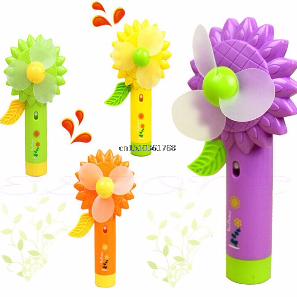 New Mini Sonnenblume Handheld Cooling Water Spray Mist Fan With Spray Bottle #Y05# #C05#New Mini Sonnenblume Handheld Cooling Water Spray Mist Fan With Spray Bottle #Y05# #C05#