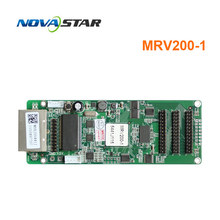 цена original factory novastar MRV200-1 MRV200 full color receiving card use for indoor advertising rental led video display онлайн в 2017 году