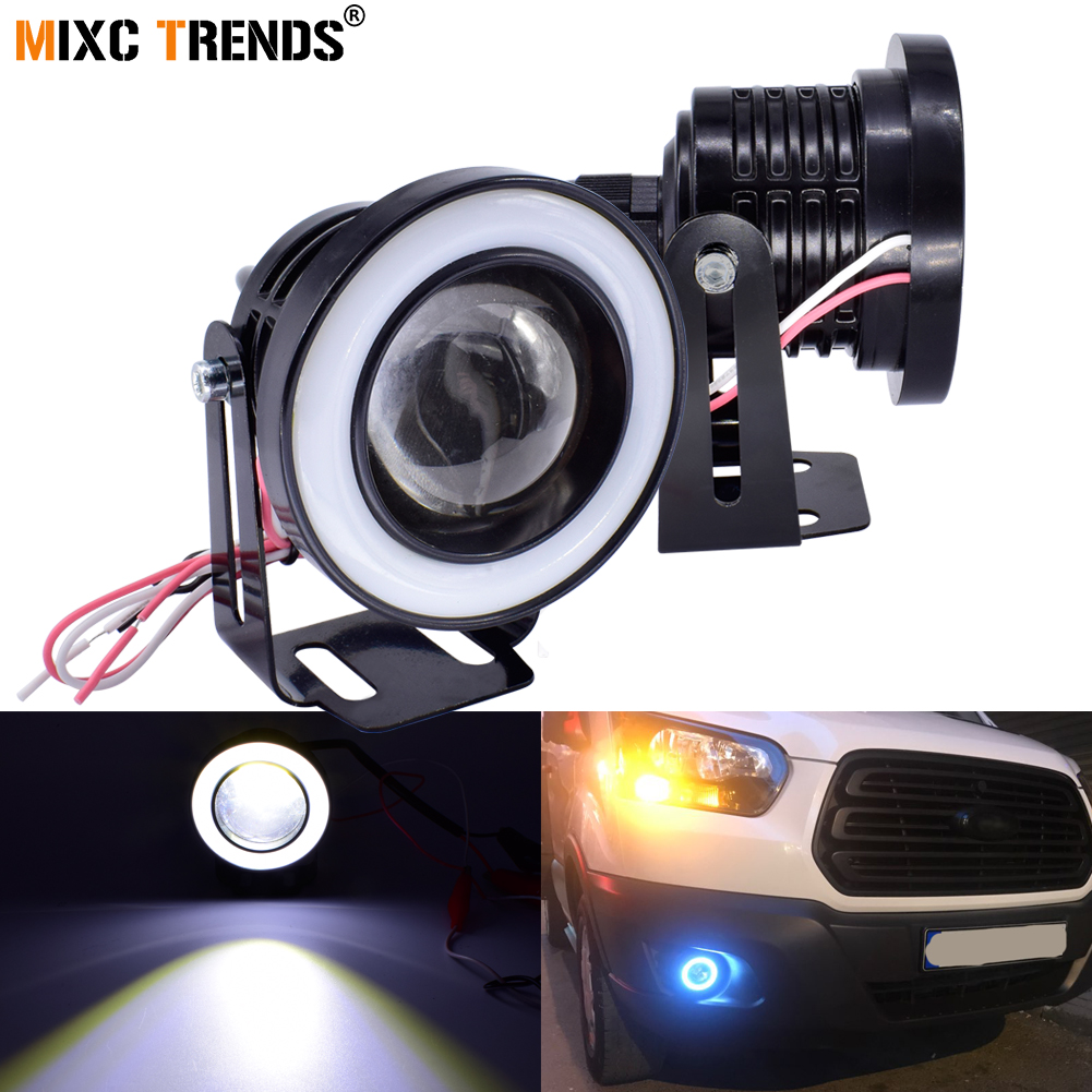 Dashing 10pcs Led Eagle Eye Light Daytime Running Drl Backup Light Car Motor 9w Atv,rv,boat & Other Vehicle