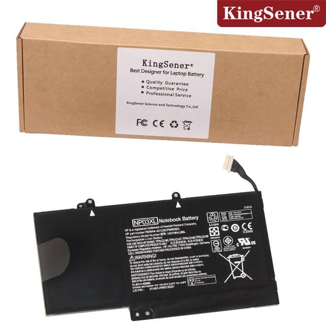 Np03xl original nueva batería del ordenador portátil para hp pavilion x360 13-a010dx tpn-q146 tpn-q147 tpn-q148 hstnn-lb6l 760944-421 batteria