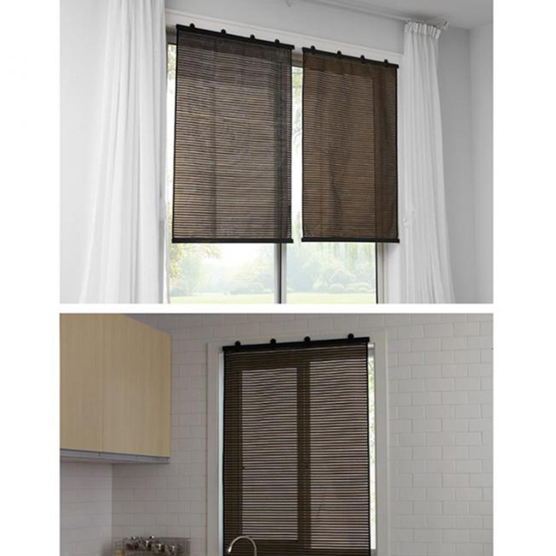 Roller Blinds Hollow Translucent Shades Window Curtains For Home Bedroom Living Room