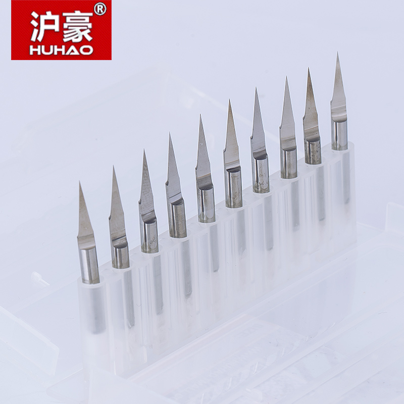 10pcs/lot 3.175mm CNC Router Bit Degree 10 15 20 Engraving Bits End Mill Carbide 0.1-0.4mm Milling Cutter Machine Accessories