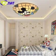 FUMAT lámparas de techo para salón lámpara de techo flor niños dormitorio Techo Luz LED para restaurante baño pasillo
