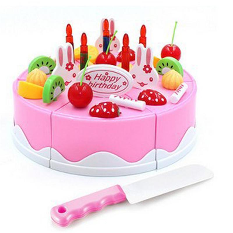 unids clsico juguete juego de imaginacin cocina comida conjunto de juguete de bricolaje corte modelo