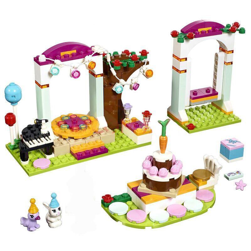 Bela 10492 Andrea Birthday Party Block Blocks LegoINGly Friends - Mainan pembinaan - Foto 3
