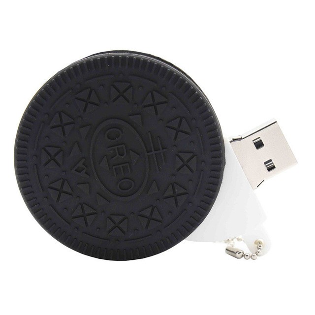 TEXT ME Oreo Biscuits model ice cream chocolate usb2.0  4GB 8GB 16GB 32GB 64GB pen drive USB Flash Drive creative giftyPendrive 5