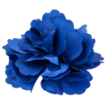 10xSilk Flower Hair Clip Wedding Corsage Flower Clip 8cm - Dark Blue