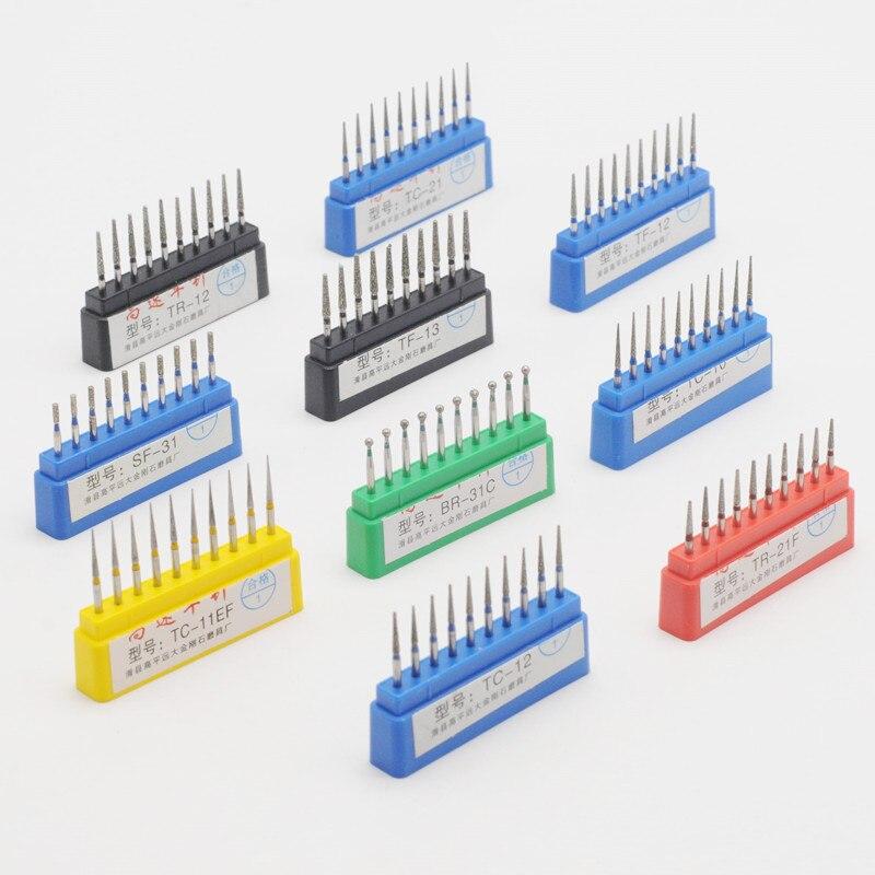 Diamond FG High Speed Burs For Polishing Smoothing Dental Burs Dentist Tool