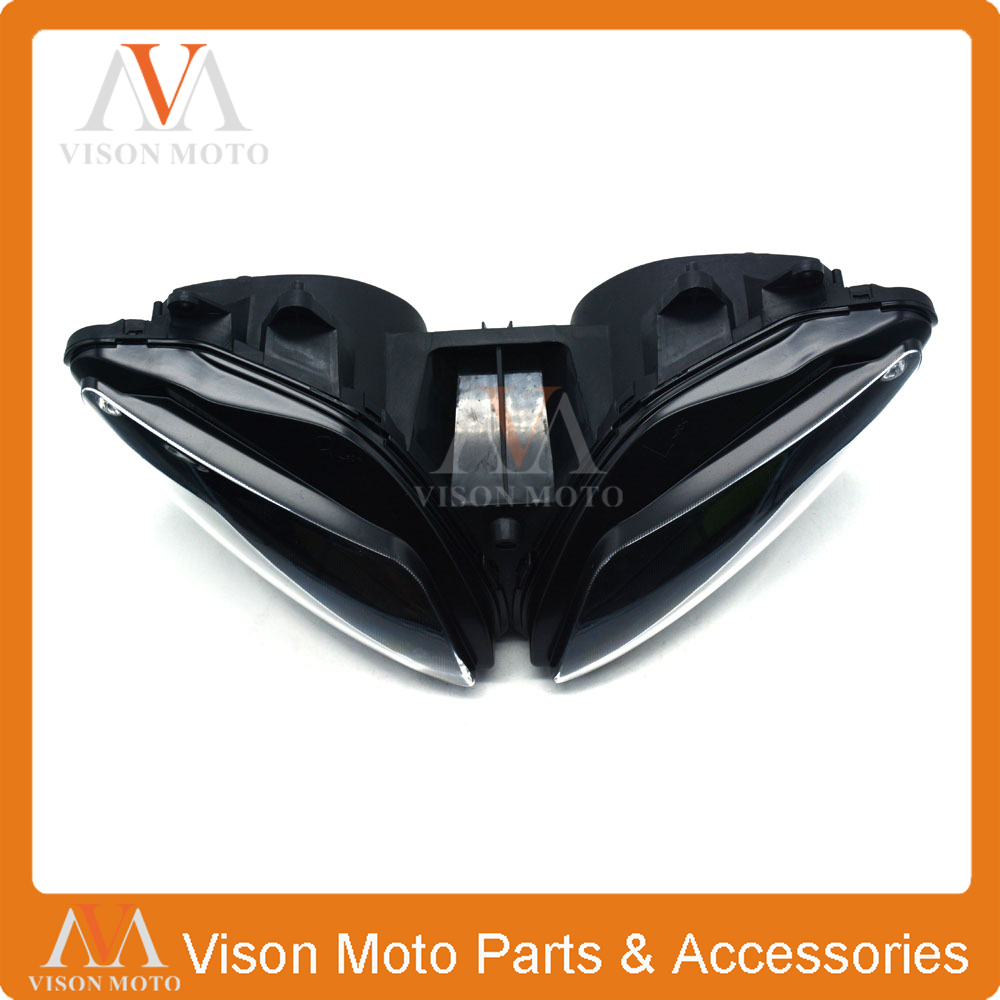 Motorcycle Front Light Headlight Head Lamp For YAMAHA YZF-R1 YZFR1 YZF R1 2002 2003 02 03 hot sales for yamaha r1 fairings yzfr1 2007 2008 yzf r1 yzf r1 yzf1000 r1 07 08 red black abs fairings injection molding