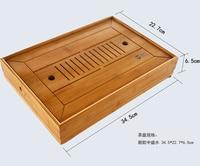 New style Bamboo Tea tray Tea table teaset middle size 34.5*22.7*6.5CM ~