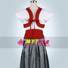 Anime hakuouki Harada sanosuke uniforme Cosplay traje completo set Camisa +  falda 1881e84685b5