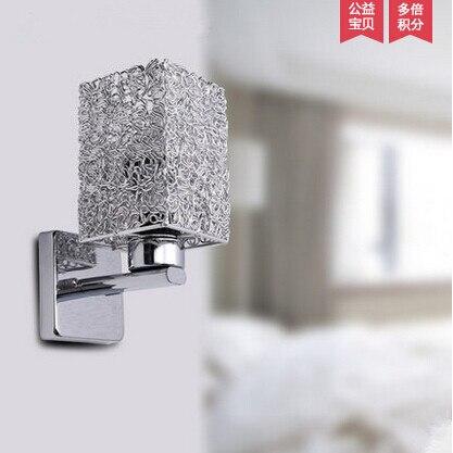 comprar hierro vidrio lmpara de pared cama iluminacin moderna breve dormitorio lmpara de pared balcn apliques escalera pared del bao with lamparas y