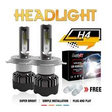 Modifygt 3 color changing 5 modes H4 led H7 H8/H9/H11 9005 9006 Headlight 3000K 4300K 6000K 50W 8000LM 12V 24V car styling
