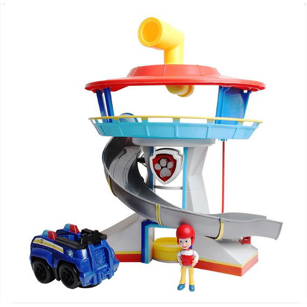 Patrulla Canina Juguetes Canine Patrol Dog Tower Big Toys  Anime Doll Action Figures Car park Patrol Puppy Toy With Car And Dog model anime puppy pow patrol dog action figures back to power car with light and music puppy patrulla canina toy baby kids toys