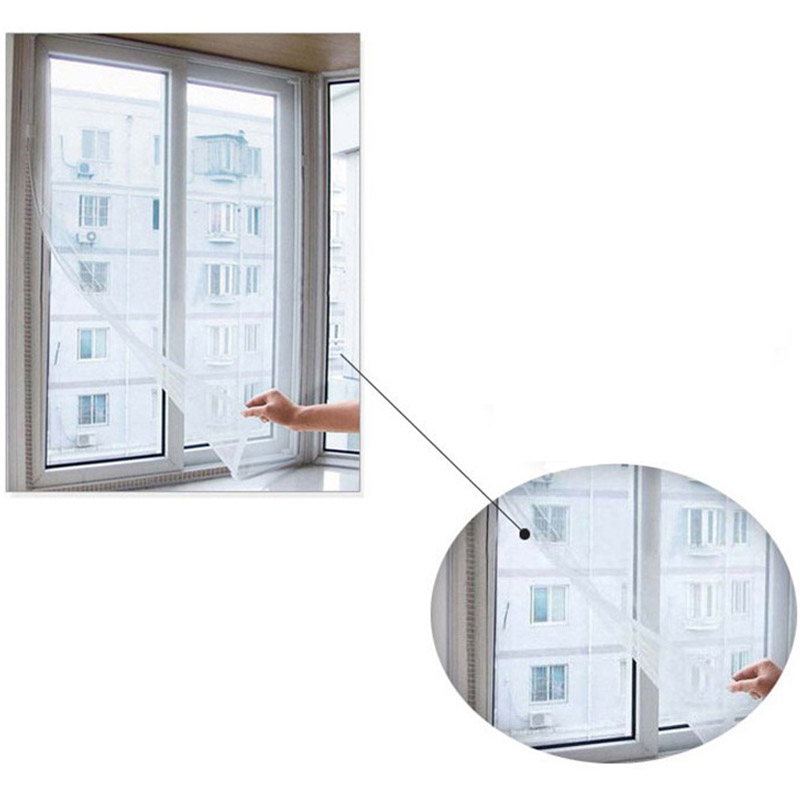 Zuversichtlich Diy Vorhang Protector Fly Screen Inset Fly Moskito Fenster Net Mesh Screen Zimmer Cortinas Moskito Vorhänge Net D5 Moderater Preis Fensterbehandlungen