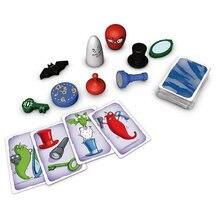 Jogo de tabuleiro geistes 5 vor 12 2-8, jogo para toda família, reação rápida, com instruções em inglês, frete grátis