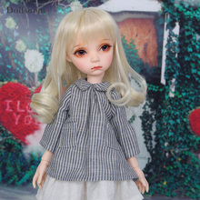 aImd 3.0 Nicole fullset yosd 1/6 luts Girl Boy Resin Figures Model Toys For Girl Birthday Xmas Best Gift BJD be with you potato fullset bjd sd dolls yosd littlefee luts 1 6 resin figures ball joint toys wig shoes eyes clothes bwy