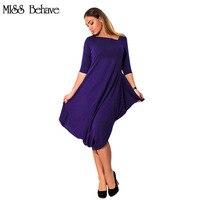 Vestido de la mujer de moda de Verano Azul Púrpura de Gran tamaño Sólido Atractivo Asimétrico Vestidos Ropa mujer Plus Tamaño 5XL 6XL vestido de Tirantes Ocasional