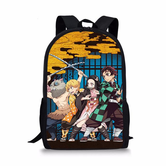 Demon Slayer Kimetsu no Yaiba School Bag