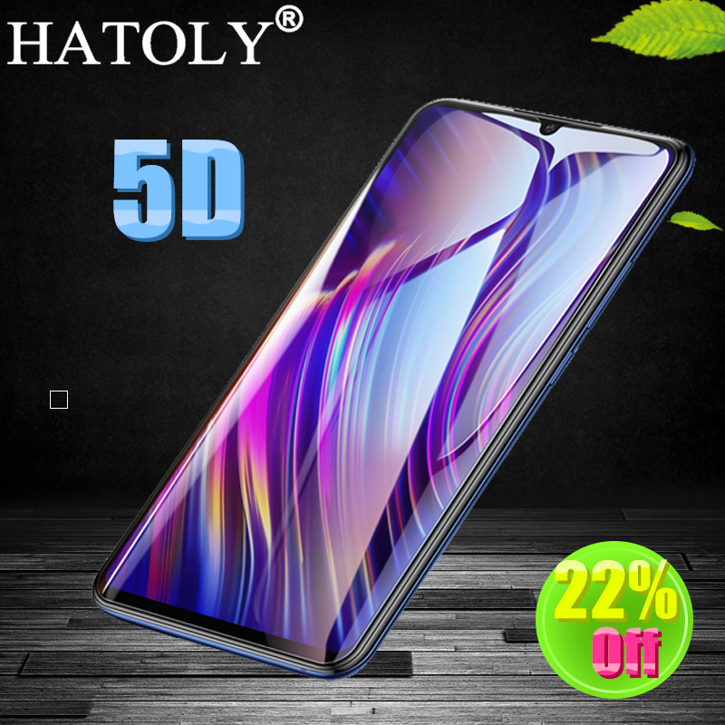 HATOLY 5D Tempered Glass for Vivo Y97 Screen Protector for Vivo Y97 Pro Full Cover Film for Vivo Y97 Y97A Protective Glass 6.3